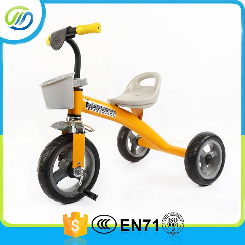 Cool ride on metal pedal tricycle for kids