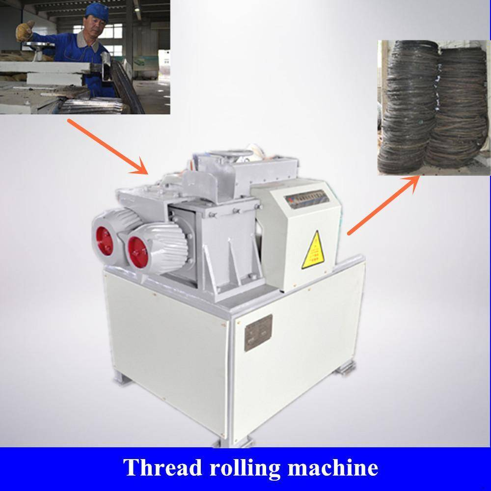 Rubber Recycling Equipment Plant--Thread Rolling Machine