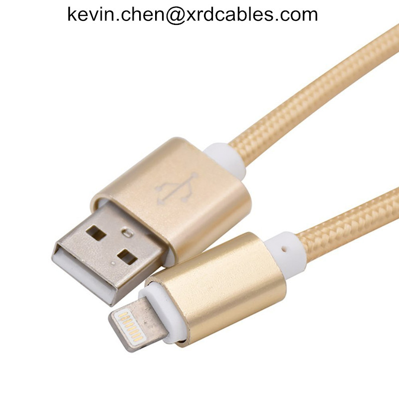 Lightning USB Cable Braided For iPhone 7 7Plus 6 6s Plus