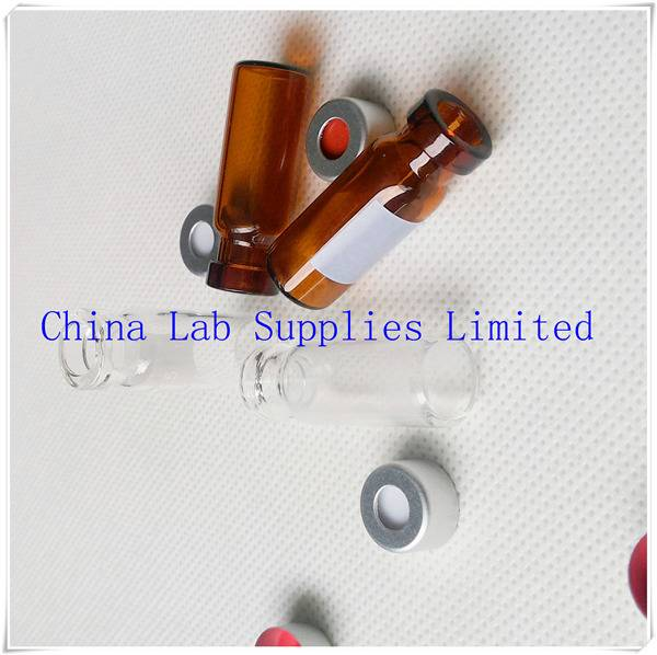made in china best price Glass amber Bottle for GC analysis V1145