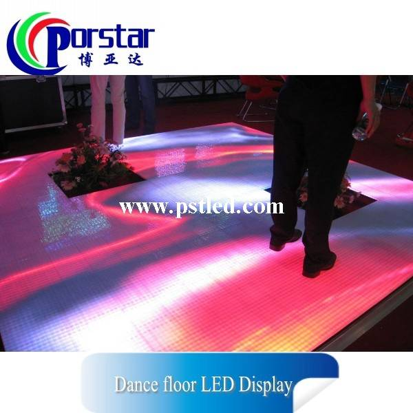 High quality led display outdoor advertising video screen/led dance screen