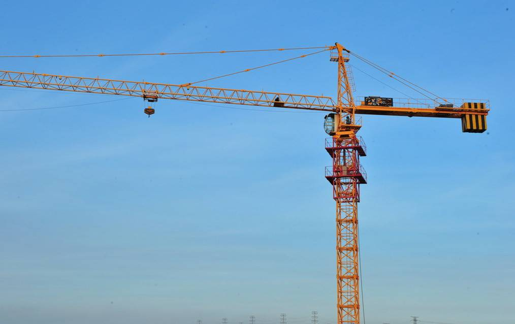 Self Climbing Building Tower Crane 140m For Civil TC5010A
