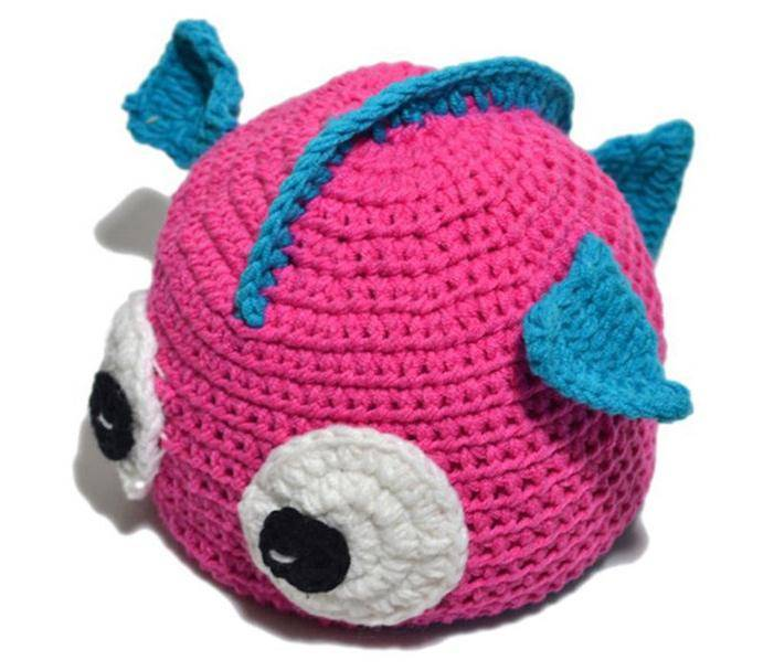 Baby Toddler Cartoon Hat Infant Boy Gilr Knitted Crochet Handmade Costume Photo Props
