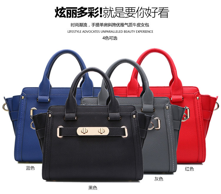 women's handbag tote bag pure real leather bag wholesale bag in China on sale