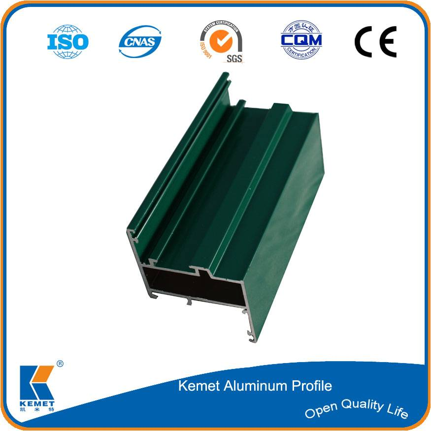 6063 aluminum extruded frame for window door and curtain wall
