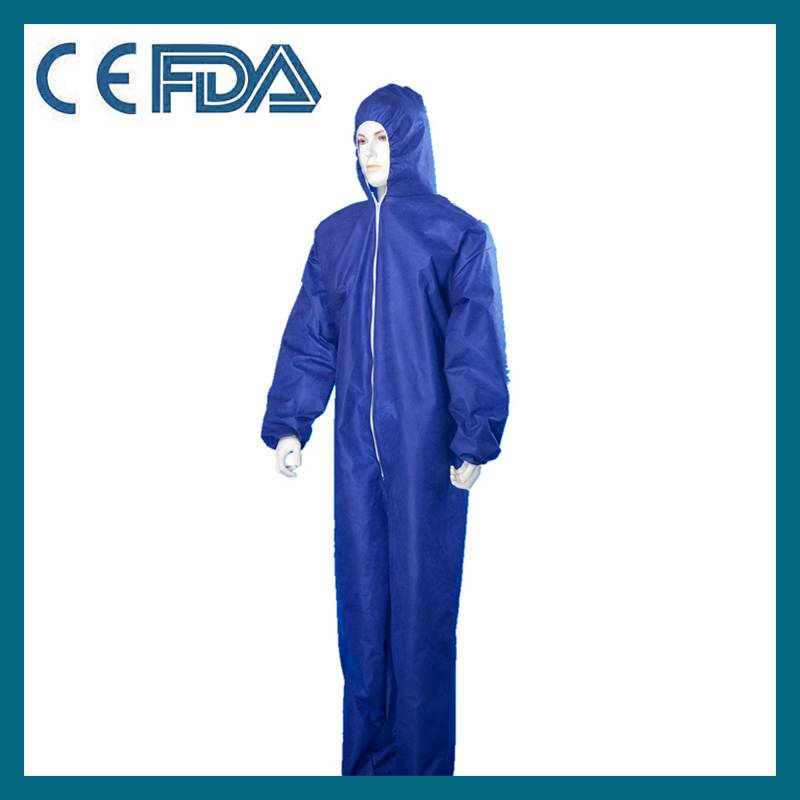 Nonwoven protective clothing