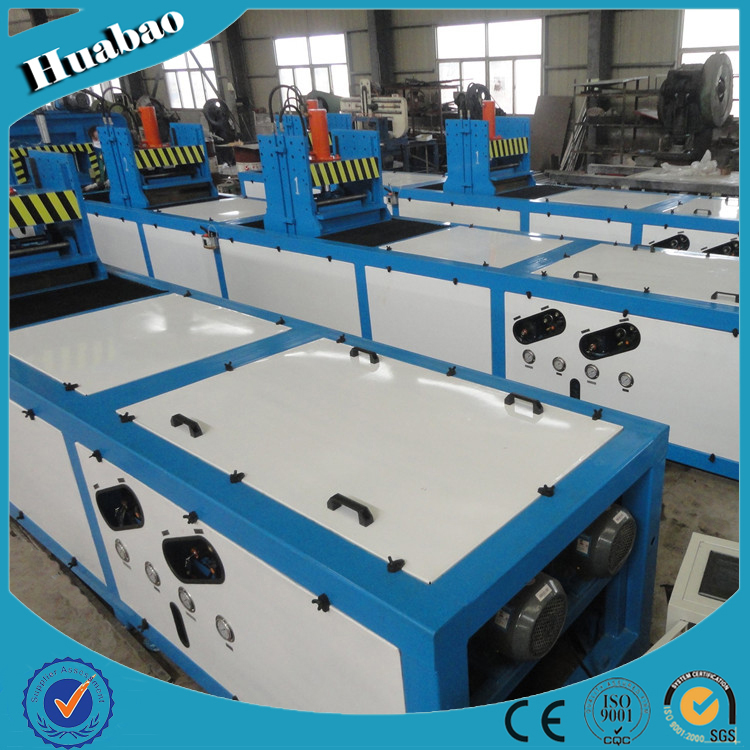 hydraulic pultrusion machine for manufacturing thepultrusion profile