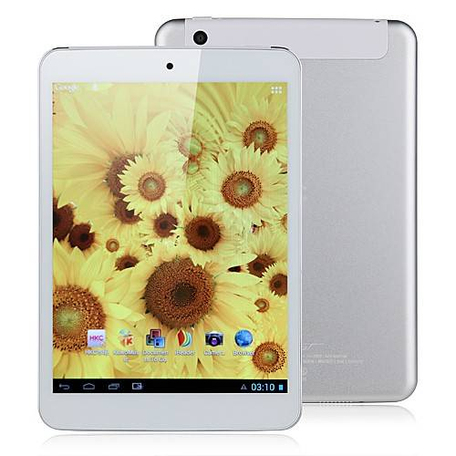 HKC Q79 7.9 Inch MTK8377 1.2GHz Dual Core 3G Tablet PC Android 4.1 GPS Bluetooth Monster Phone MID S