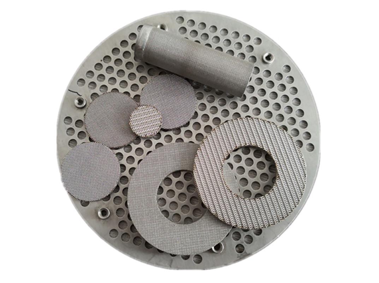 Multi-layered Sintered Filter Disc Sintered Mesh LaminatesFilters & Baskets