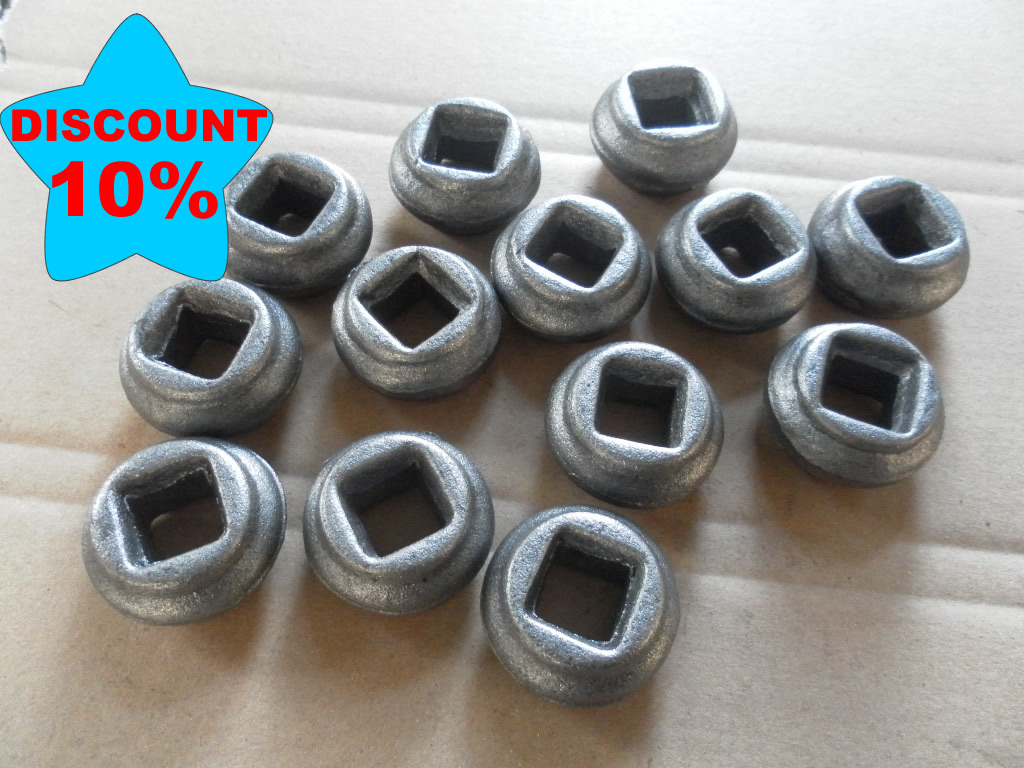 forged iron studs for bar