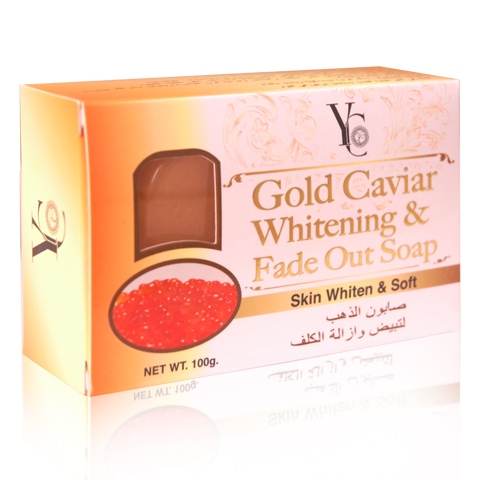 Soap Gold Caviar Whitening Fade Out Soap