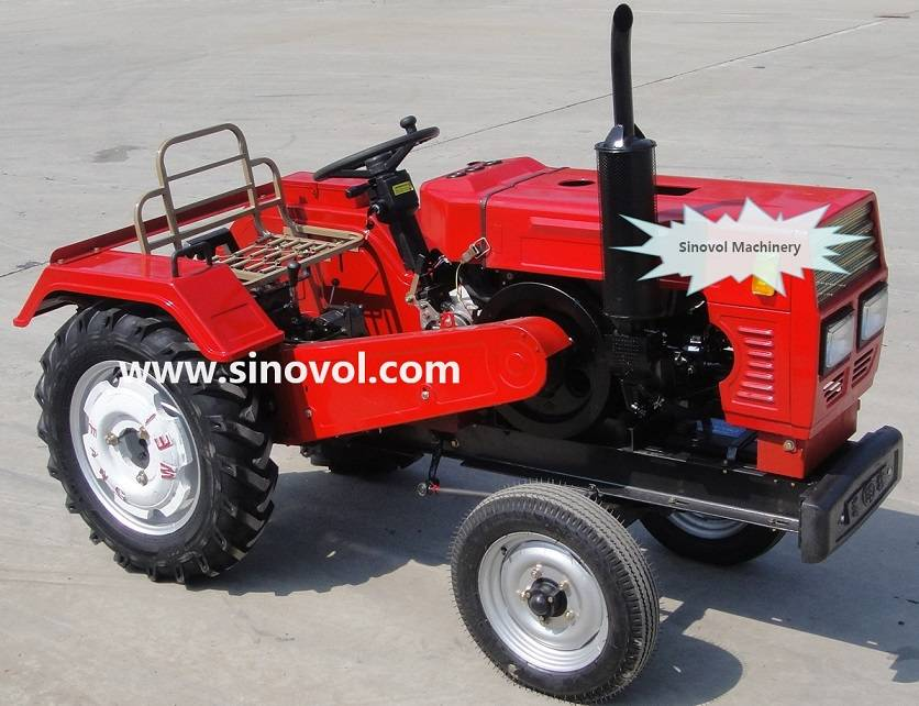 Small tractor 17-30hp,belt transmission