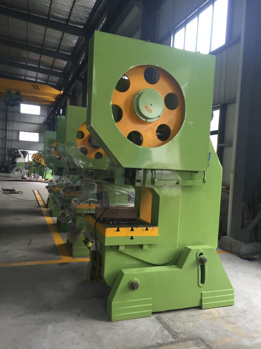 "J21-150T ""C"" shape mechanical power press"