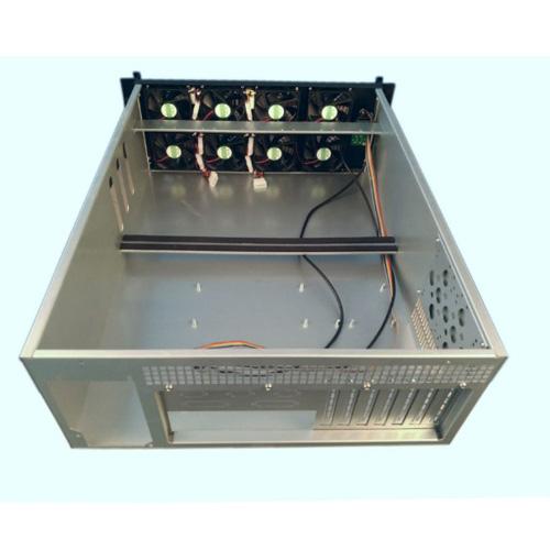 Q-460 4U Miner Mining Frame Rig Graphics Case For 6 GPU ETH Ethereum