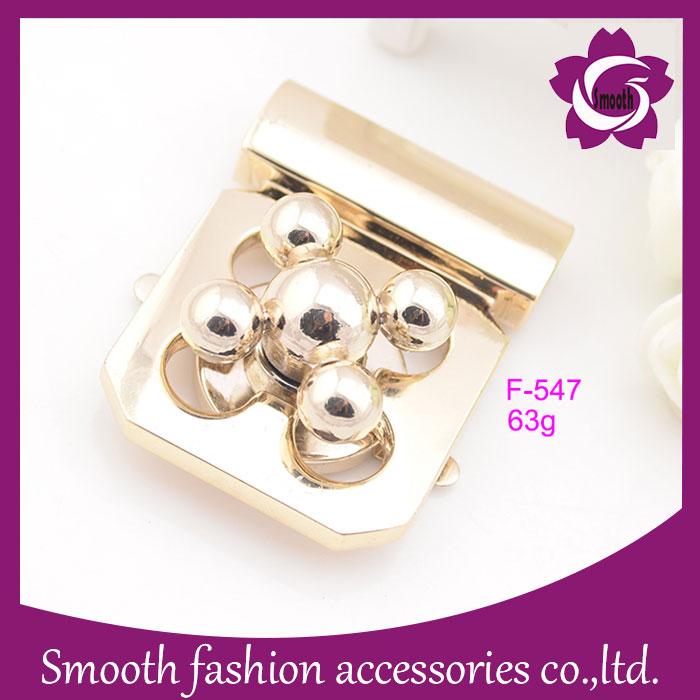 Custom Design Bag Hardware Twist Lock, Metal Lock for Handbag Accesories Wholesale