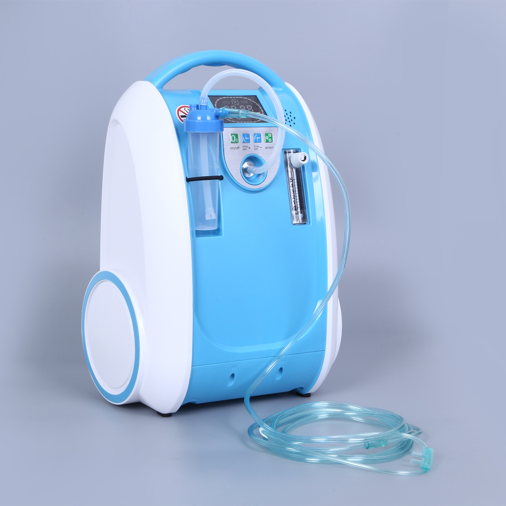 Continuous Flow Portable Oxygen Concentrator For The Elderly