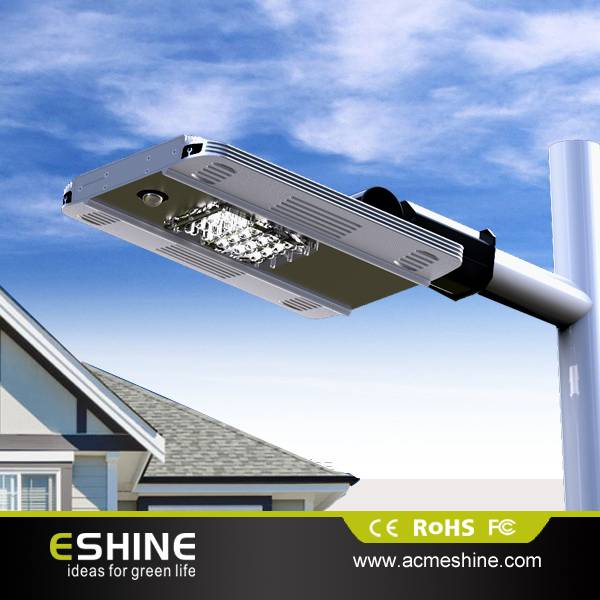 7w High power solar garden street light solar outdoor led light for garden