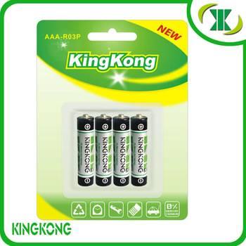 Carbon battery KK-R03P-KA4B