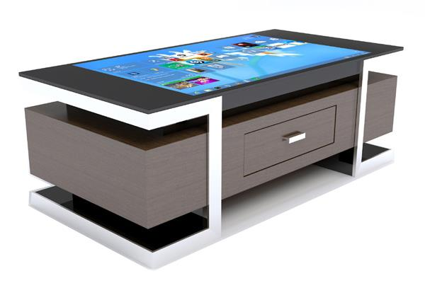 """43"""" Interactive Multi Touch Table Kiosk Advertising Display Box"""