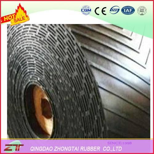 Chevron Rubber Conveyor Belt Used in grain