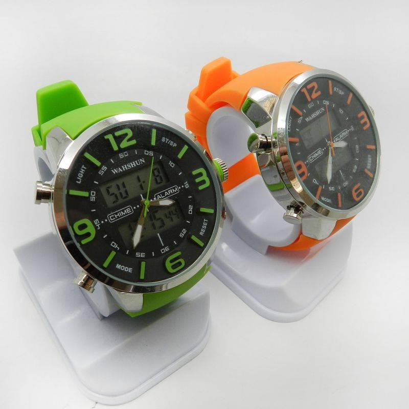 Cheap Fashion sports Watch, Slap Silicone Band
