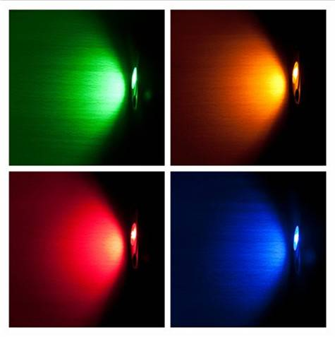 Glow Bluetooth Control 4in1 Atmosphere Light Lamp 12V 9w Atmosphere Light LED Car Interior Decoratio