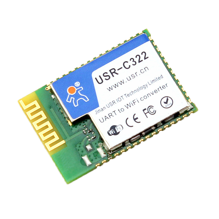 USR IoT Industrial Low Power TI CC3200 WiFi Modules with On-board/External Antenna