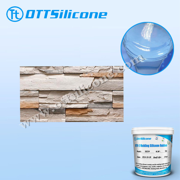 Mold making silicone rubber for stone products/Liquid Silicone Rubber Mold For Stone
