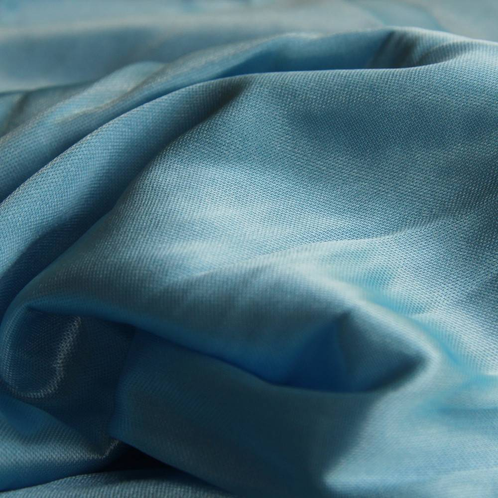 100% Polyester cirular jersey bright fabric