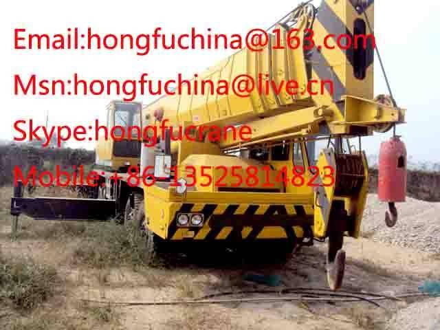 TADANO TG800E 80t truck  crane FOR SALE