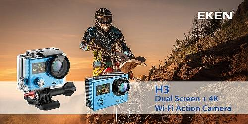 Original factory Ultra HD 4K action camera with wifi and waterproof case