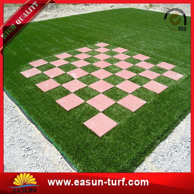 40mm 16800 density Decoration Artificial Grass Turf for Landscaping Home garden-Donut