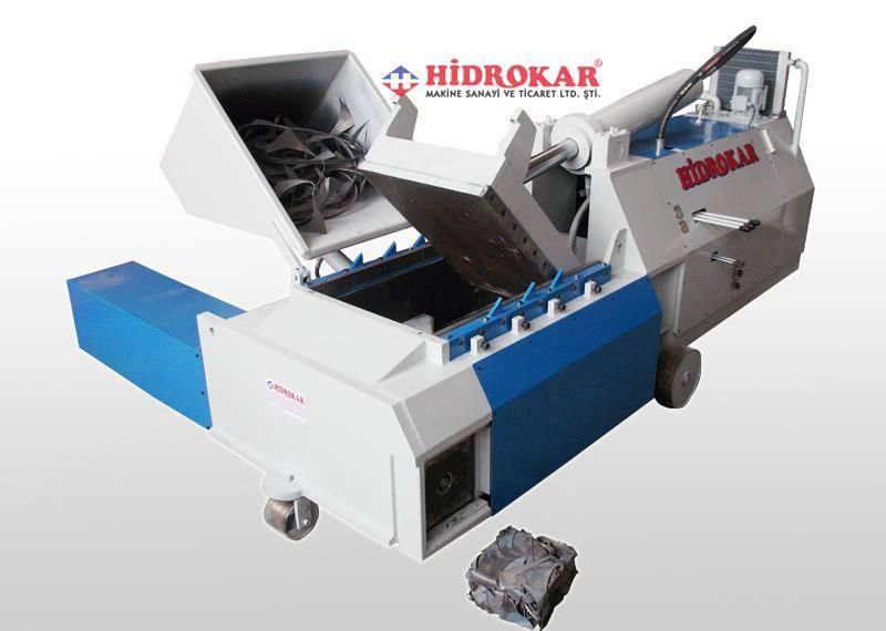 hydraulic scrap baling press side dump 30x30 4 travel
