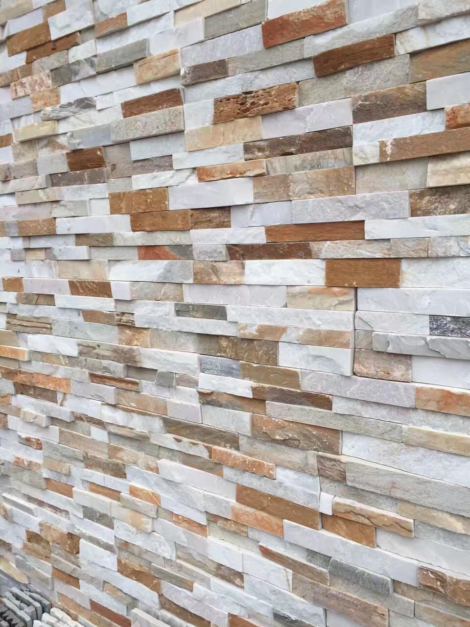 high quality natural slate wall panels ,ledge stone panels