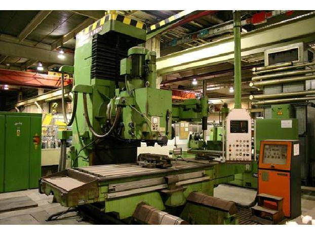 Used vertical Milling machine Droop&Rain