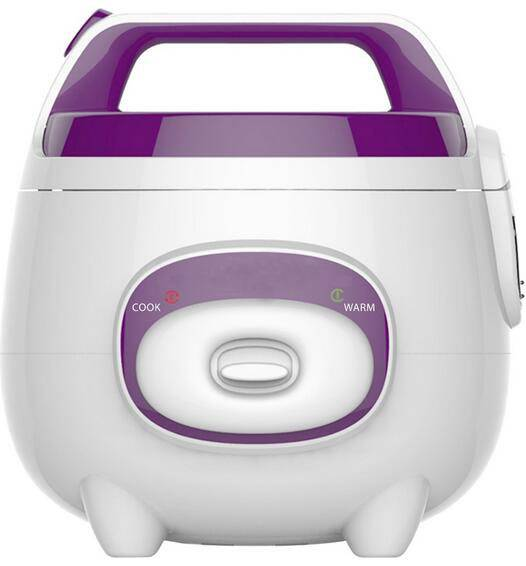 400W 1L Plastic Body Mini Rice Cooker