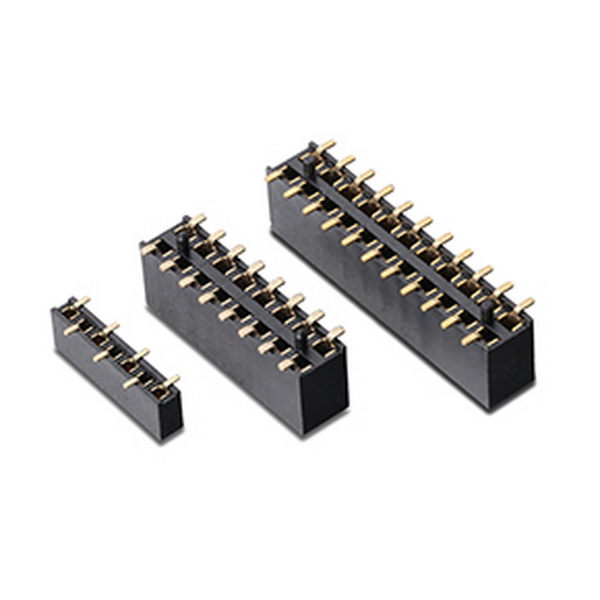 2.54mm pitch double row smt type female header connector