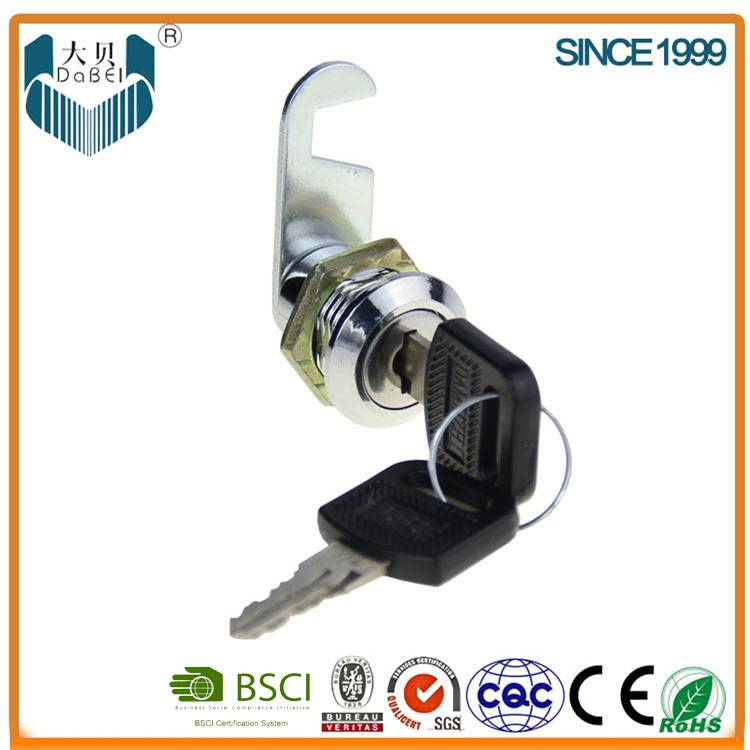 Plastic ABS Material 18mm Length Cabinet Locks (101-3)