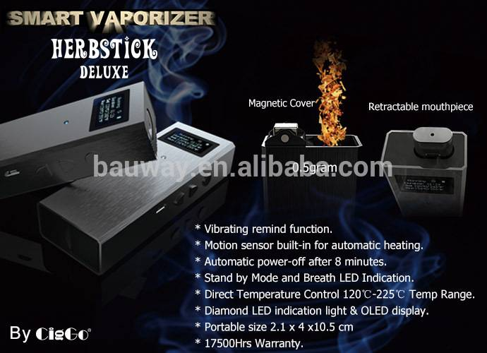 2015 new product KY02 dry herb vaporizer pen