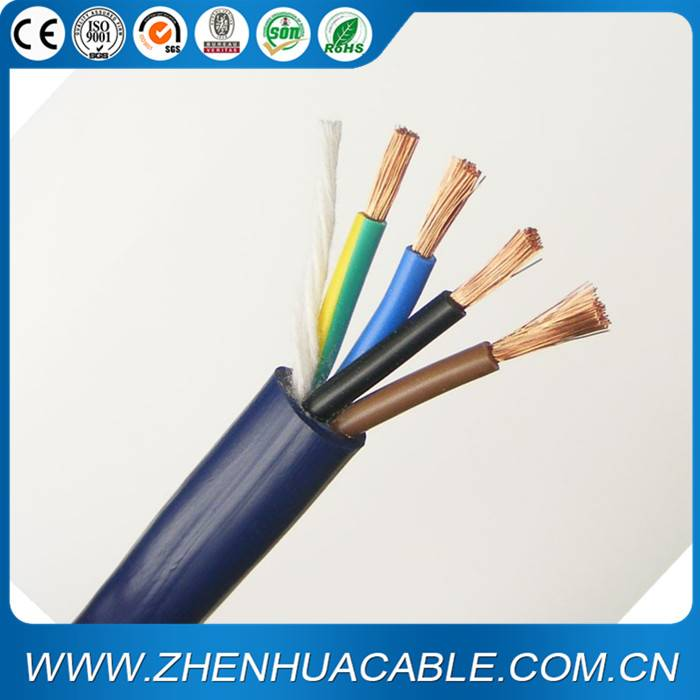 H05VV-F Electric Power Cable 2X1.0mm2 2X1.5mm2