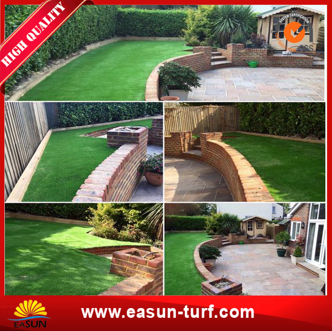 Landscape with Artificial Grass Waterless Turf for Garden-MY