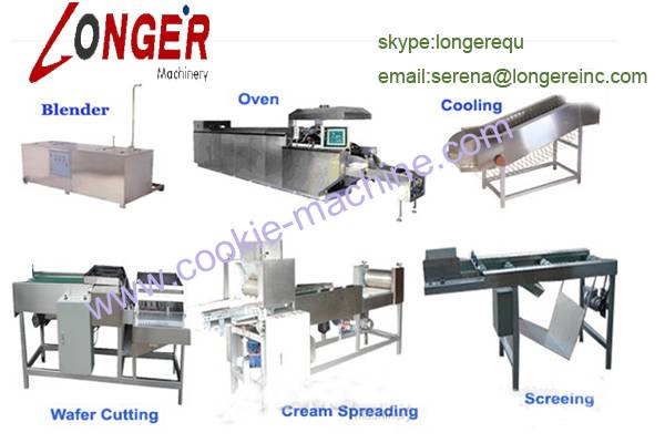 51 Mould Automatic Wafer Biscuit Making MachineWafer biscuit maker