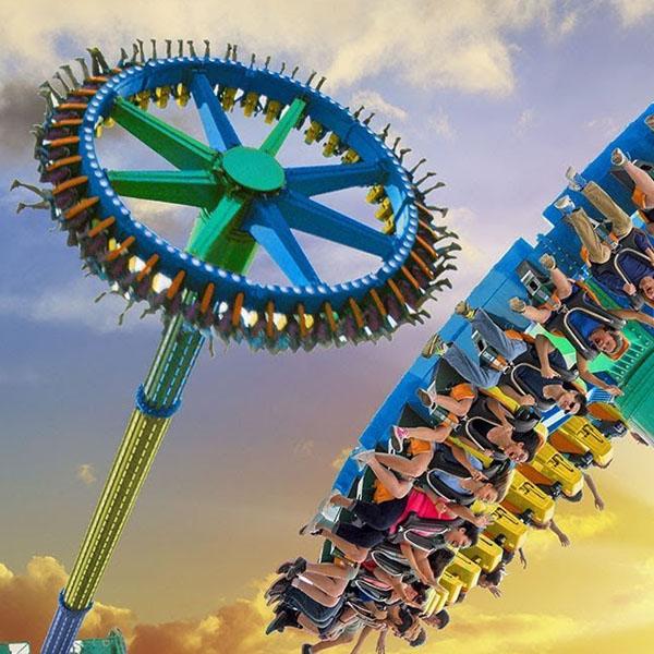 Giant Frisbee Rides HFBC08--Hotfun Amusement rides