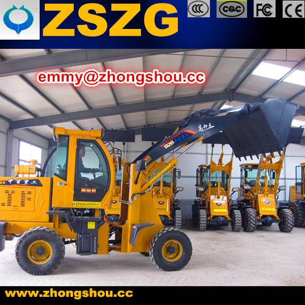 2.6ton Powerful Performance Wheel Loader ZL-926 1m3 Capacities