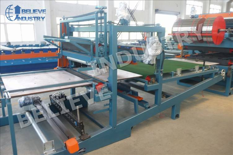 EPS & XPS Sandwich Panel Production Line