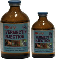 ivermectin injection , veterinary medicine