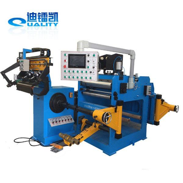 heavy duty aluminium foil winding machine for oil type transformer