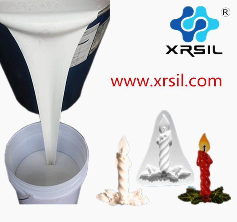 Candles Mold making Silicone Rubber,XINRUN silicone rubber