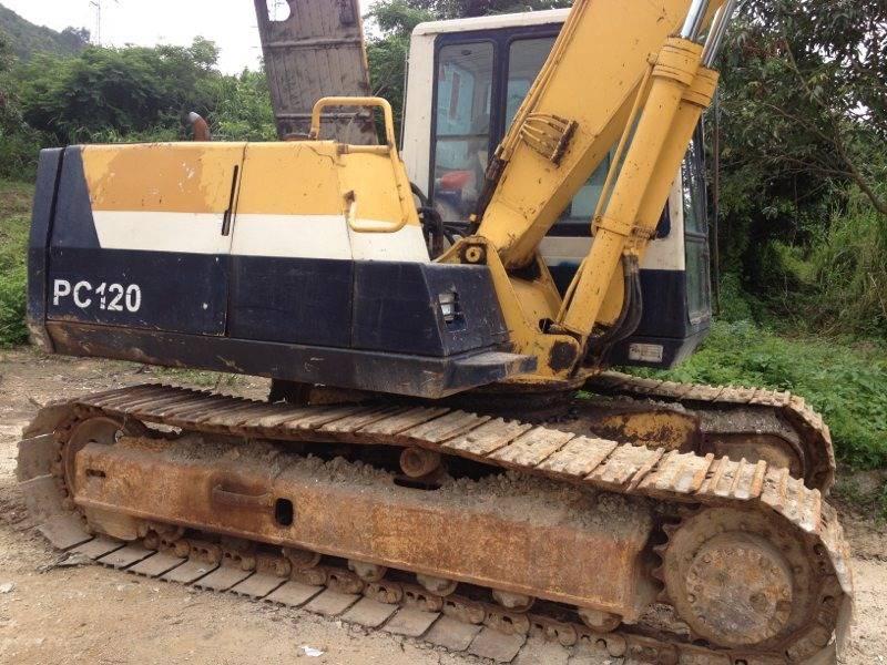 Used Japan Original Komatsu PC120-5 Crawler Excavator