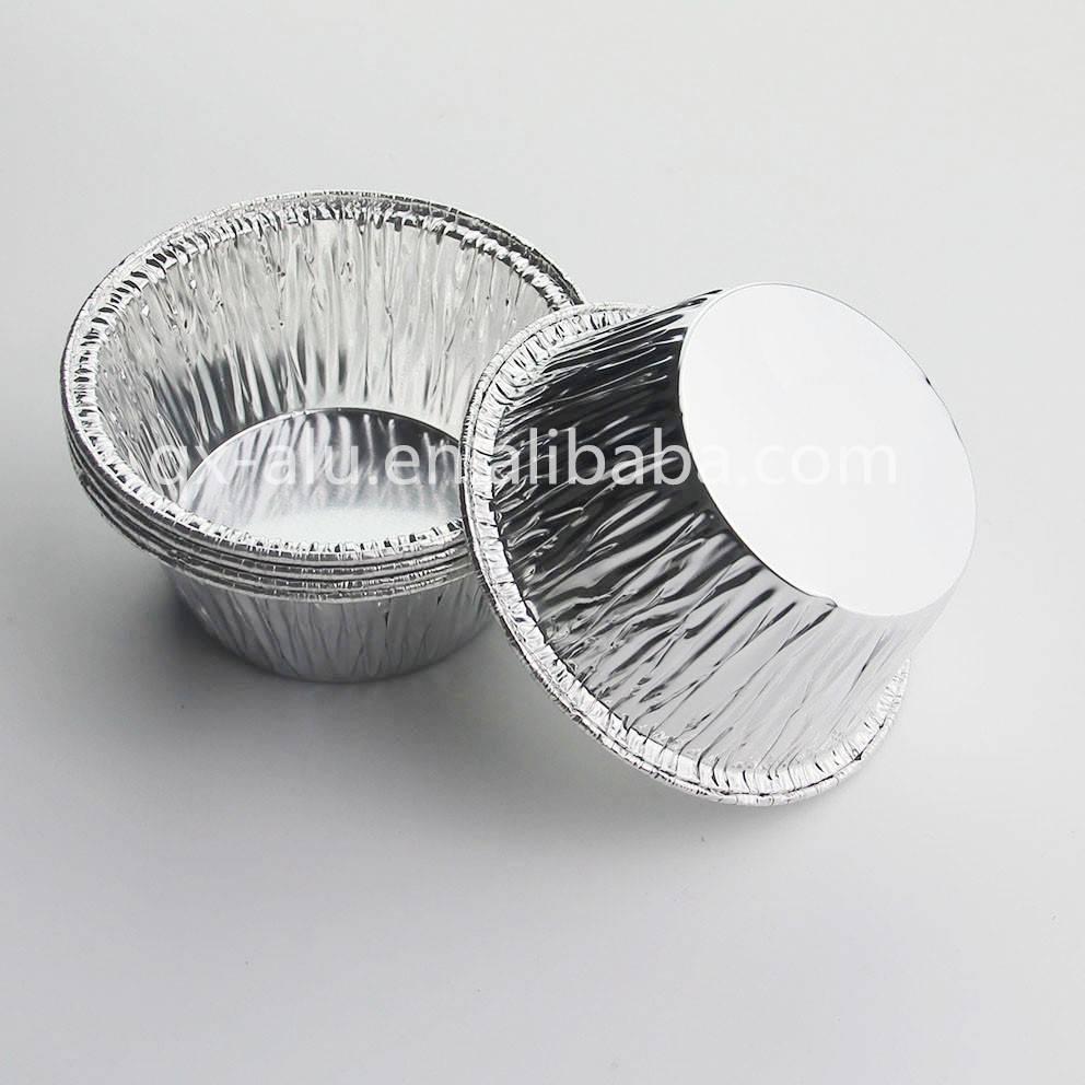 Disposable Aluminum Foil Cups Muffin Cupcake Tin